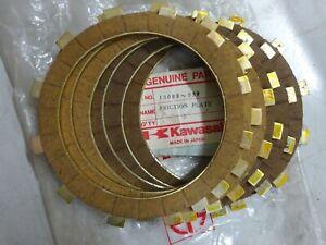 KAWASAKI NOS CLUTCH PLATE SET (6) 13088-039  KH250 S1 S2 KDX175