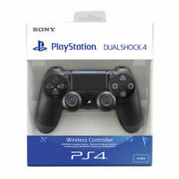 Controller Playstation 4 Dualshock 4 V2 Jet Black Wireless. Nero.