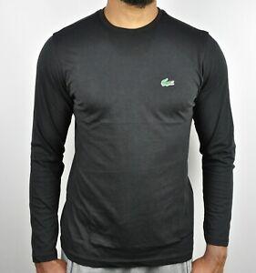 Lacoste Crew Neck Long Sleeve T-Shirt For Men Size - XL