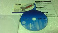 MPIO IMP-90 Digital Music Player MANUAL and SOFTWARE DISC - i-Bulldog IMP-90