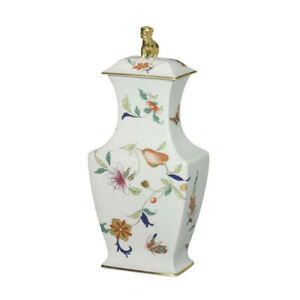 Vista Alegre Samatra Porcelain Oriental Pot