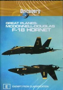 Great Planes - McDonnell-Douglas F-18 Hornet (DVD, 2003)