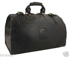 Men Genuine Leather Travel Bag Big Luggage Bag Duffle weekend Bag Carry On Large