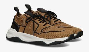 $970 BERLUTI Shadow Knit Sneakers | UK 8.5 / US 9.5 | Beige & Black