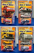 Matchbox Best of British, Range Rover Sport (x2), Landrover Discovery & Defender