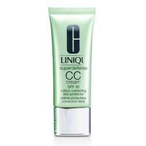 NEW Clinique Superdefense CC Cream SPF30 - Medium Deep 40ml Womens Skin Care