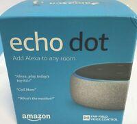 Echo Dot (3rd Gen) - Smart speaker with Alexa - Heather Gray 53018603