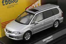 Ebbro 43268 1:43 Scale 2002 Honda Odyssey Absolute (RA6) Die Cast Model (Silver)