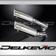 """Kawasaki Z1000 Mini 8"""" Stainless Round Muffler Exhaust 10 11 12 13 14 15 16"""