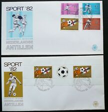 Netherlands Antilles FDC - Sporting Events, Soccer_1982.