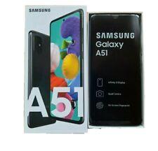 New Samsung Galaxy A51 SM-A515/DS Black 128GB Dual Sim Unlocked 2 Years Warranty