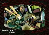 Upper Deck Deadpool & Rogue Pooling Around Achievement PA2 ePack Exclusive