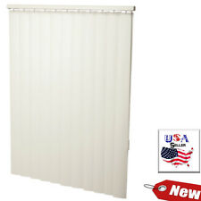 "66 x 96 Alabaster 3-1/2"" Vertical Blind - Vertical Blind 66W x 96L Fast Shipping"