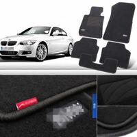 5pcs Premium Auto Fabric Nylon Anti-slip Floor Mats Carpet For BMW 3 Series