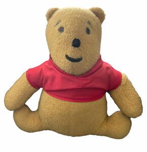 "Rare Vintage 60's Winnie the Pooh 12"" Plush Stuffed Bear Handmade Rose Milardo"