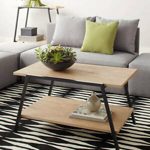 Mainstays Logan Coffee Table, Multiple Finishes W