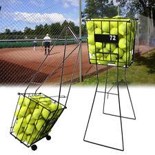 72 Tennis Sport Ball Pick Up Hopper Basket Portable Stand Storage Equipment