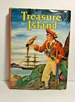 Treasure Island HC Book Vintage Robert Luis Stevenson Dust Jacket