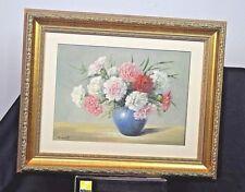 "T. Saito ""Vase of Carnations"""