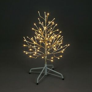 60cm Champagne Tree With 96 Warm White LEDS 240v Indoor Or Outside