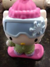 Hello Kitty on snow board Bobble Head