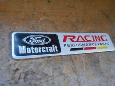 Ford Motorcraft Racing Performance Parts Intake Fender Trunk Dash Emblem Badge