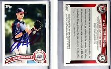 Will Middlebrooks Signed 2011 Topps Pro #123 Card Auto Autograph