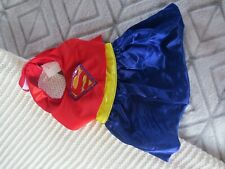 Superwoman Costume New Pet Clothing Super Cute For Small Dogs