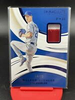 2020 Panini Immaculate Walker Buehler 2 Color Patch SSP To /25 Dodgers