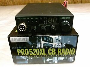Uniden  PRO520XL CB Radio 40 Channel Compact