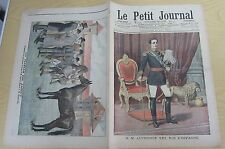 Le petit journal 1905 no. 756 s.m. Alphonse xiii king of spain harras jardy