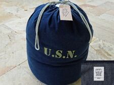 USN M29 Blue Denim Duffle Bag Barrack Bag M-1929 US Navy Army Marines USMC WK2