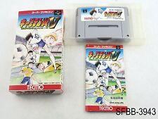 Complete Captain Tsubasa V 5 Super Famicom Japanese Import CIB SFC US Seller B