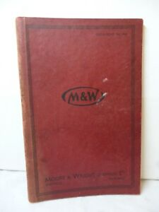 M & W Moore & Wright Sheffield 1946 Catalogue No.46A Collectible Vintage Tools