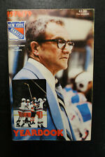 1978/79 New York Rangers Yearbook Fred Shero Cover Esposito Media Guide NRMT+
