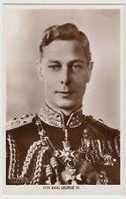 Royalty; HM King George VI, Head & Shoulders Portrait RP PPC, Unposted, By Excel