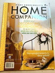 Mary Engelbreit's Home Companion June July 2002 Very Good Condition