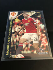 Topps Premier Gold 2015 Morgan Schneiderlin Manchester United Black 23/25