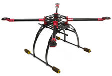 RC Car C25864RED Custom Alloy+Carbon Fiber Quadcopter Upgrade Frame 550 Foldable