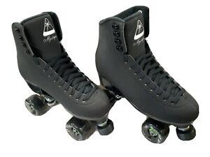 Jackson Mystique Artistic Skates w/Pulse Indoor Wheels Mens 11 NEW