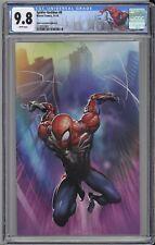 Spider-Geddon #0 CGC 9.8 Clayton Crain VIRGIN Scorpion NYCC PS4 Spidey COVER B