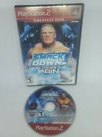 WWE SmackDown Here Comes the Pain (Sony PlayStation 2, 2003) Tested No Manual