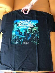KING  DIAMOND  SHIRT Abigail GR. XL Old  2003  Vintage Shirt Heavy Metal