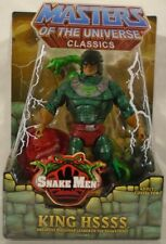Masters Of The Universe Classics King Hssss Snake Men Hiss (MOC) With Mailer