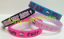 Monster High Silicone Bracelets Birthday Party Favor