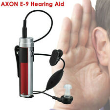 AXON E-9 In Ear Sound Rechargeable Adjustable Tone Hearing Aid Voice Amplifier