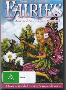 Shirley Barber's FAIRIES DVD Music And Stories From Fairyland NEW & SEALED