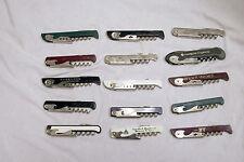 Lot Of 15 Franmara Italy TSA Confiscated Corkscrews Lot 215