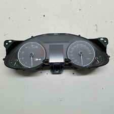 2013 Audi S4 B8.5 3.0L V6 Armaturenbrett Tachometer Anzeige Kombiinstrument ~