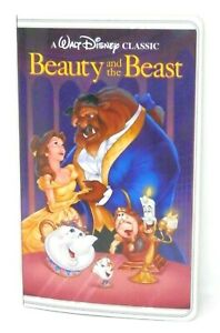 Disney Parks Beauty and the Beast VHS Style Notebook - Journal Diary Notes NWT